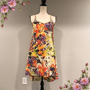 Jessica Simpson gorgeous floral dress with straps.
